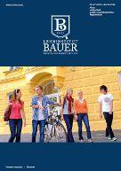 Lehrinstitut Bauer Prospekt Titelblatt